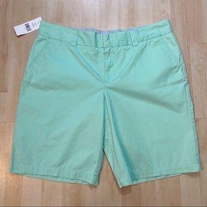 BNWT Tommy Hilfiger mint green shorts